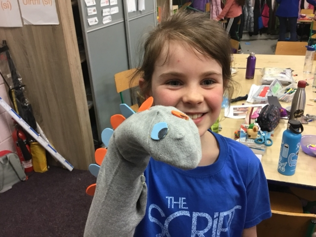 What a great day of learning and fun we had at the Green School's Action Day. We made sock puppets, learned about recycling and heard about reducing plastic in our homes.